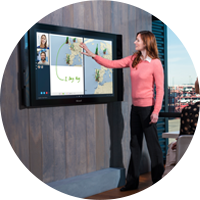 Surface Hub in use